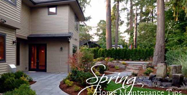 springtime home maintenance